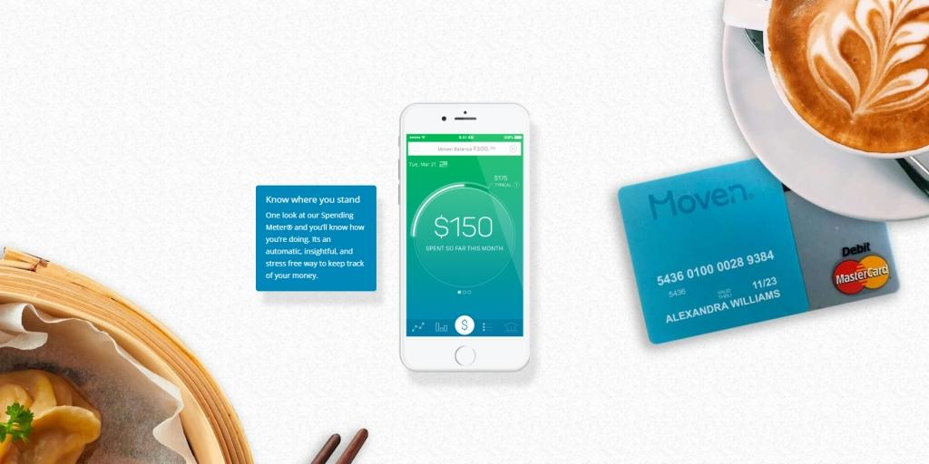 Great UX: Moven lets customers transfer money via SMS, even to non-Moven customers